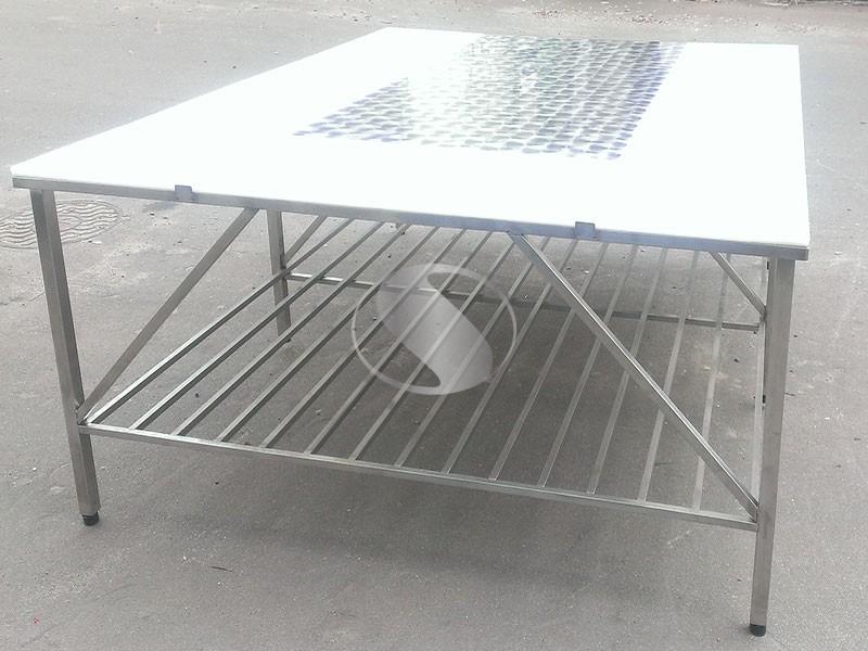Столы из нержавейки обвалочные для производства