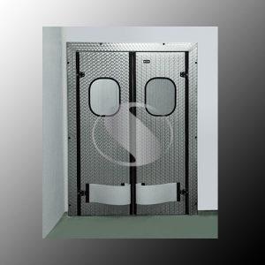 Медицинские маятниковые двери