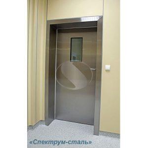 Двери медицинские петлевые