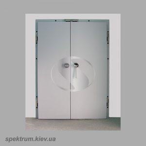 Морозильные двустворчатые петлевые двери