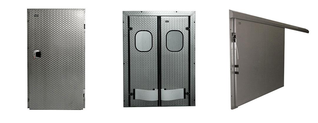 Холодильные двери из нержавеющей стали на заказ